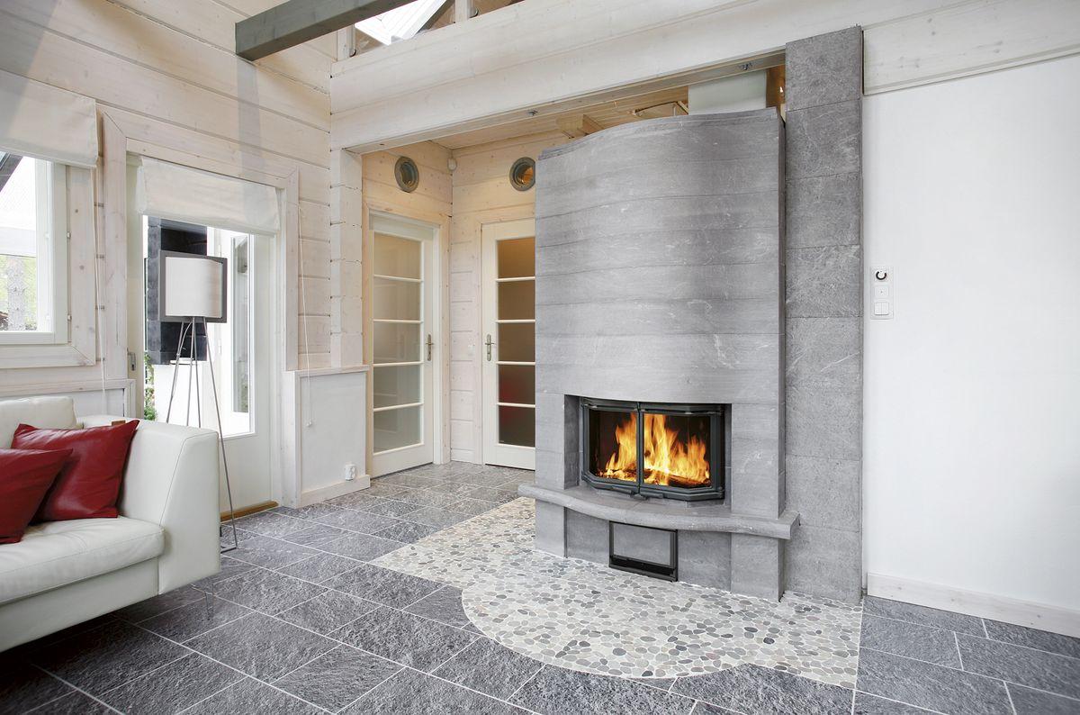 Камины и печи для отопления частного дома